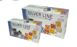 250ML Silver Line PET Jar Gift Box