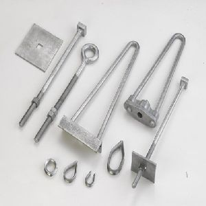 Stay Clamp & Guy Grip Set