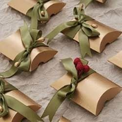 Green Gift Packing Ribbon