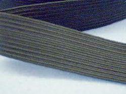 Grey Braided Elastic Tape