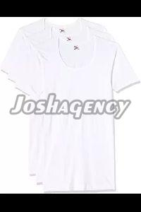 Mens Plain White T-Shirt