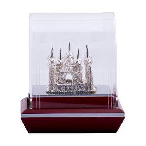 Beautiful Pure Silver Taj Mahal-The Love Symbol of Silver