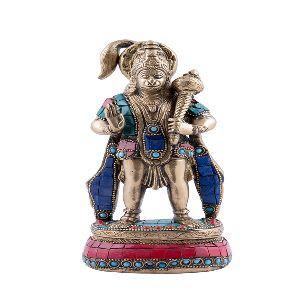Brass Hanuman Ji Statue