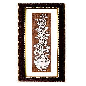 Astonishing Flower Vase Wall Hanging Painting
