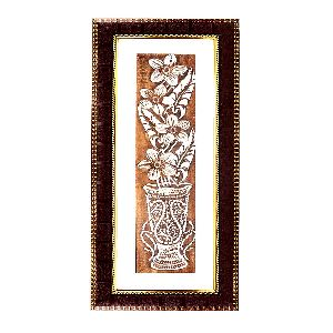 Amazing Flower Vase Wall Hanging Painting