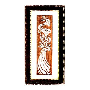 Beautiful Wall Hanging Flower Vase Painting