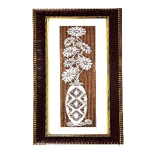 Magnificent Wall Hanging Flower Painting Frame