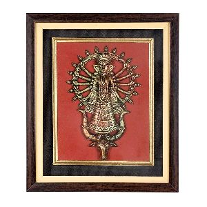Exclusive Terracotta work of Durga Jhaki