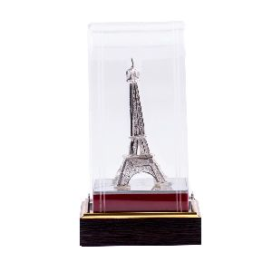 Incredible Pure Silver Eiffel tower Statue