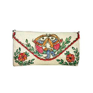 Madhubani Painting Clutch