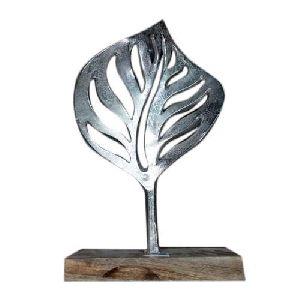 Aluminum Leaf Stand
