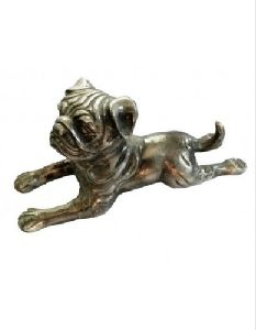 Decorative Metal Dog