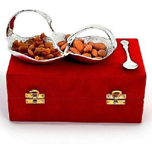 Silver Dry Fruit Bowl