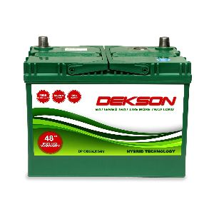 12V Din 75Ah Car Battery