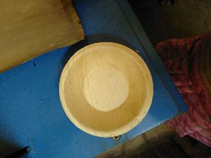 4 Inch Round Areca Leaf Bowl