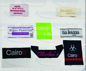 Damask Labels