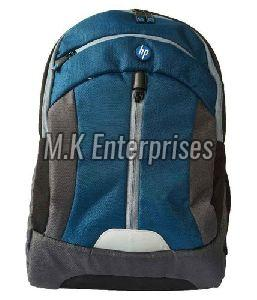 HP Blue Backpack Bag