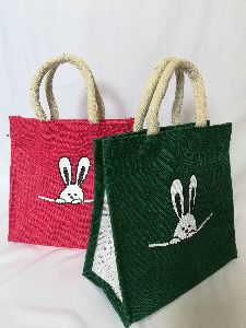 Jute Lunch Box Bags