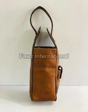RMA-04 Leather Wine Bag