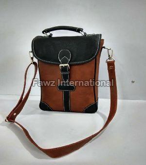 RMA-07 Leather Wine Bag