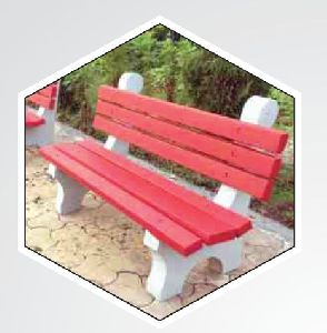 Red RCC Park Bench