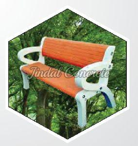 Orange RCC Park Bench
