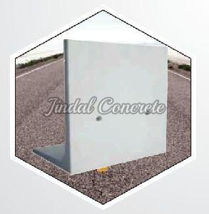 White Retaining Wall