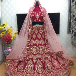Lehenga Choli Embroidery Services
