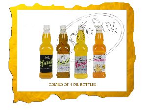 4 Bottle Cold Pressed Oil Combo