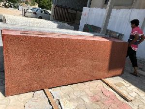 Classic Red Granite Slab