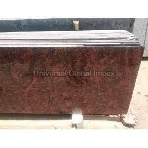 Red Multicolor Granite Slab