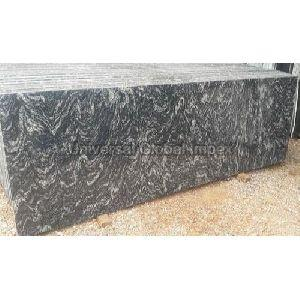 River Black Granite Slab