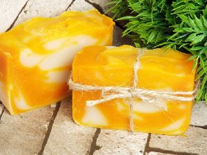 Ginger and Orange Handmade Bath Soap