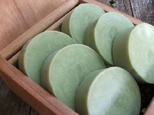 Green Tea and Mint Handmade Bath Soap