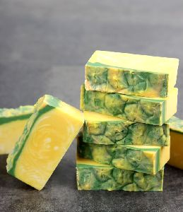 Pineapple Handmade Bath Soap