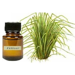 Vetiver Herbal Bath Oil