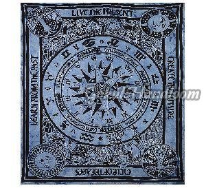 Circle of Age Live The Present Wall Hanging Tapestry