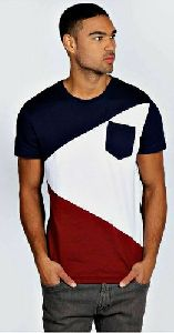 Mens Designer Half Sleeve T-Shirt