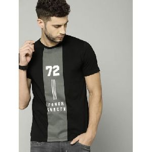 Mens Stylish Round Neck T-Shirt