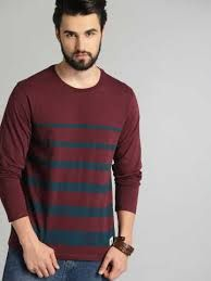 Mens Trendy Round Neck T-Shirt