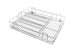 Platinum Cutlery Drawer Basket