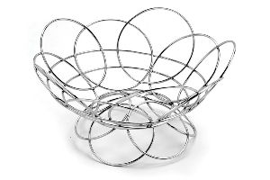 Stainless Steel Fruit Basket without Handle