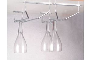 Stainless Steel Wine Glass Holder