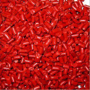 Polypropylene Red Granules