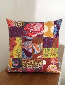 Cotton Patchwork Pillow Cover