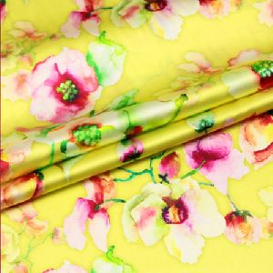 Designer Satin Fabric