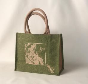 Jute Carry Bag Without Zipper