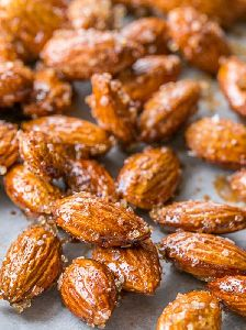 Honey Pepper Almonds