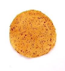 Urad Rice Red Chilli Papad