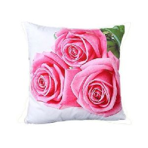 Floral Digital Printed Cushion Cover
